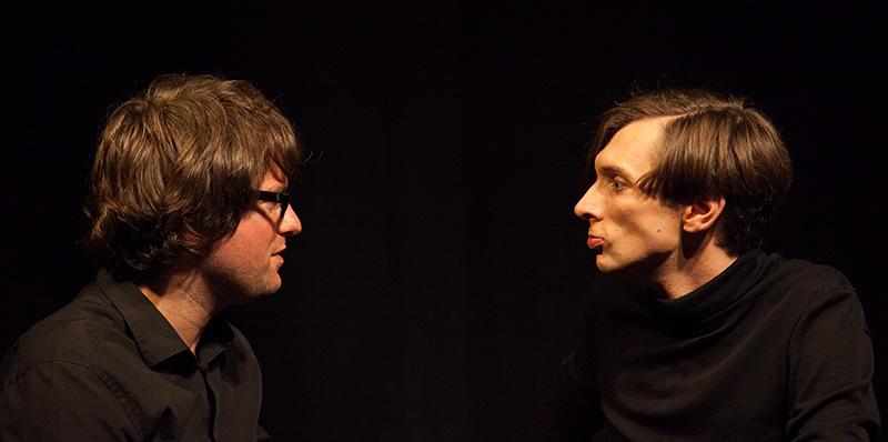 Bild einer Impro-Show Action+Drama Improtheater Leipzig