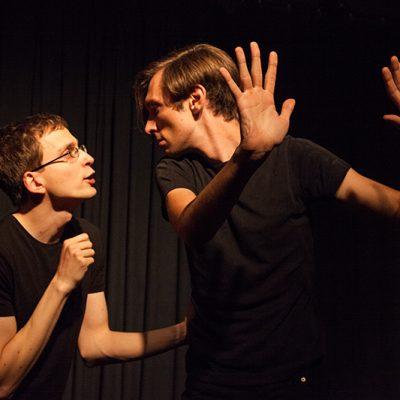 Bild einer Improshow Action+Drama Improvisationstheater Leipzig